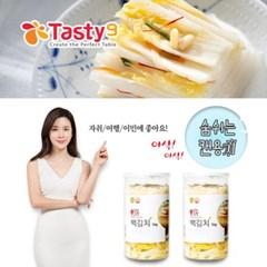이보영의 테이스티나인 먹기편한 김치세트(백김치1kg+백김치1kg)
