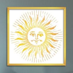 LP 메탈 액자 - oriental sun face
