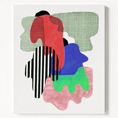캔버스 추상화 현대미술 그림 액자 Composition A