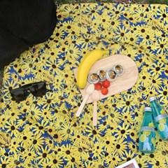 피크닉매트+파우치set - Cone Flower