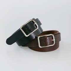 real leather buckle belt