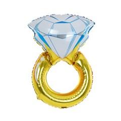 다이아몬드링 포일풍선 (대형)