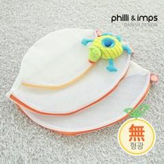 [필리앤임프스] 국내생산 무형광 원형 세탁망 3종세트