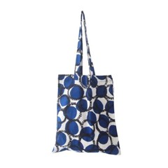blue punch simple bag