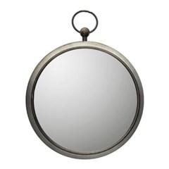 MG 엔틱블랙 라운드 거울 46_(493888)