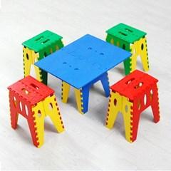 매직체어 휴대용 접이식의자 접이식테이블