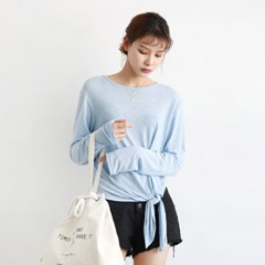 Tie point natural tee