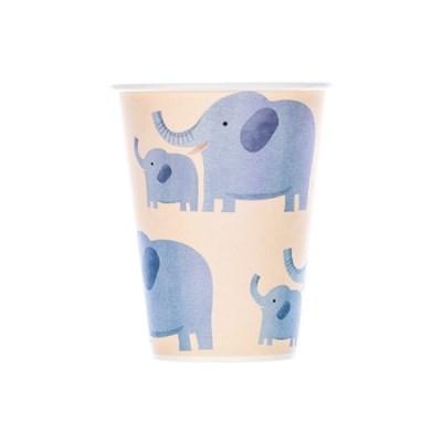 정글파티 코끼리 종이컵 (10p)