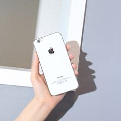 아크릴릭 '화이트' 에디션. 아이폰 6 6s 6+ 6s+케이스
