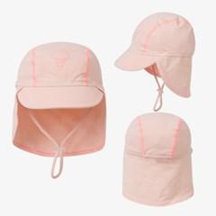 [키썸플레이] 키즈 UV 수영모자 - 피치핑크
