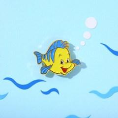 [Disney]Ariel_플라운더 뱃지