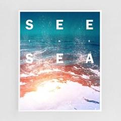 바다를 보다[알루미늄 메탈 액자/4컬러]_(1596347)