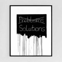 해결책[알루미늄 메탈 액자/4컬러]_(1596338)