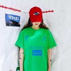 OCEAN LOGO T-SHIRT (GREEN)