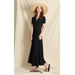 Simple Wrap Long Dress