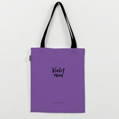Violet Mood 에코백 by 체리시(224135)