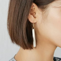 wood stick earring