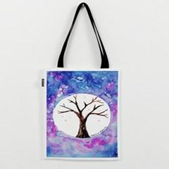 우주속의 나무 에코백 by 이그린(255711)