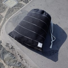 wuseoul(더블유서울) [pin stripe] 피크닉매트_차콜