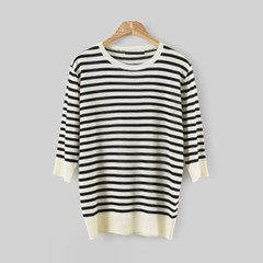 Linen Stripe KNIT (2-color)