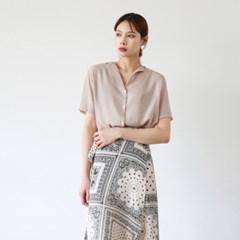 Light v-neck blouse