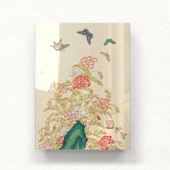 꽃나비있는아름다운풍경2 아크릴액자by하얀달(335133)