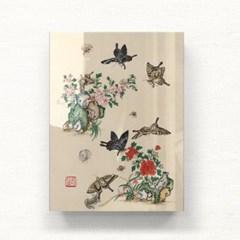 나비와 꽃들 시리즈3 아크릴 액자by하얀달(334779)