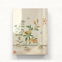 도라지꽃과 개구리 아크릴 액자by하얀달(334638)