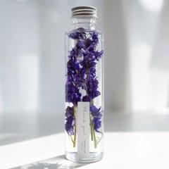 하바리움(herbarium) - 라운드보틀 - 블루락스퍼