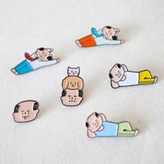 아자씨 뱃지 (Pin Badge) 6C