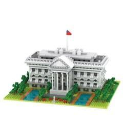 YZ062 나노블럭 유명건축물 백악관