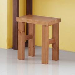 풀내음 소나무 원목 의자 PN022