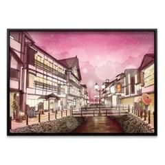 1000조각 직소퍼즐▶ 별이 빛나는 야마가타현의 밤 (3H10-1009)