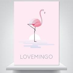 러브밍고 - 감성그림 폼보드 액자