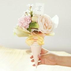 로니 고깔 사탕 꽃다발