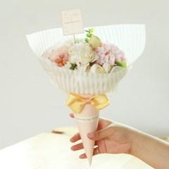 베니 고깔 사탕 꽃다발