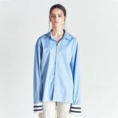 CUFFS LINE OVER SHIRTS BLUE