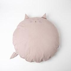 허그미쿠션 - 핑크고양이
