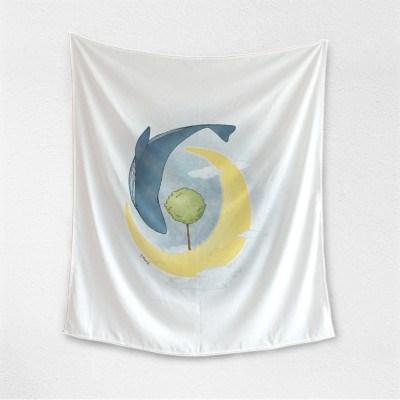 고래의 달 태피스트리byS.HyunJ (324199)