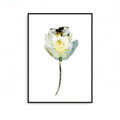 패브릭포스터 꽃그림 식물액자 플라워