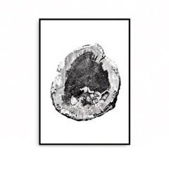 패브릭포스터 식물액자 그림 나이테