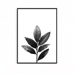 패브릭포스터 북유럽 식물액자 베이 LEAVES