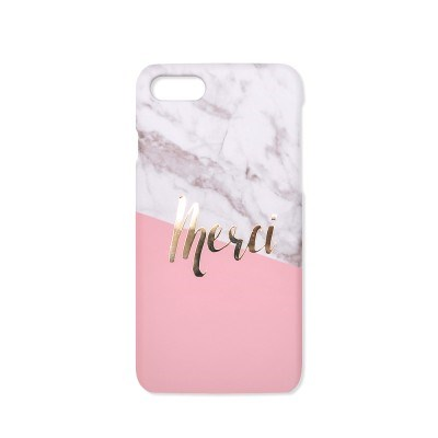 Marble coloration_Merci / Pink