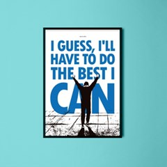 유니크 인테리어 디자인 포스터 M 영화 록키