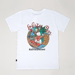 Lobster White T-shirts (for Adult)