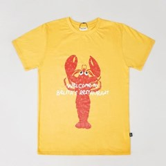Lobster Yellow T-shirts (for Adult