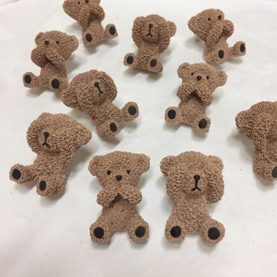 뽀글이 곰 석고방향제
