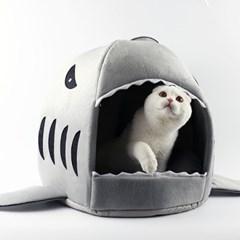 코네코 샤크 강아지집 고양이집 L_(539211)
