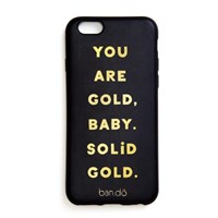 leatherette iphone 7 case, you are gold