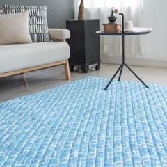 윈드 3D통풍 매쉬매트 블루 150x200